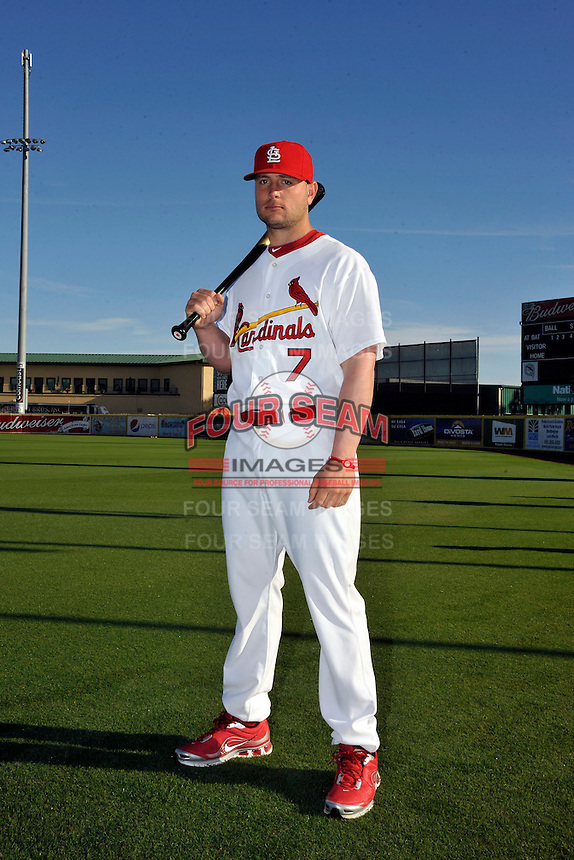 Mar 01, 2010; Jupiter, FL, USA; St. Louis Cardinals outfielder Matt Holliday (7) during  photoday at Roger Dean Stadium. Mandatory Credit: Tomasso De Rosa/ Four Seam Images