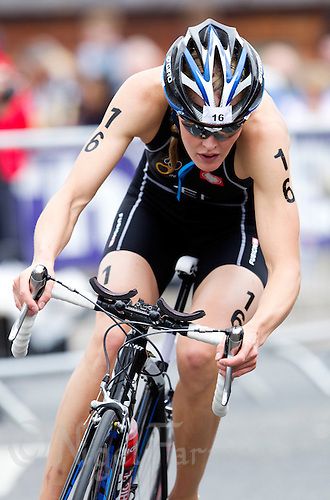 03 JUL 2010 - ATHLONE, IRL - Line Jensen (DEN) - European Elite Womens Triathlon Championships (PHOTO (C) NIGEL FARROW)