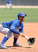 Cheslor Cuthbert, Kansas City Royals 2010 minor league spring training..Photo by:  Bill Mitchell/Four Seam Images.