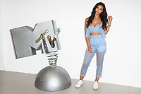 """Maya Jama<br /> at launch photocall for MTV's """"True Love or True Lies?"""", London<br /> <br /> ©Ash Knotek  D3417  07/08/2018"""