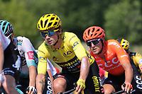 15th September 2020; Lyon, France; Tour De France 2020, La Tour-du-Pin to Villard-de-Lans, stage 16; Primoz Roglic Slovenia Team Jumbo - Visma
