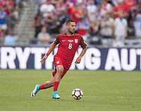 Commerce City, CO - Thursday June 08, 2017: Clint Dempsey during a 2018 FIFA World Cup Qualifying Final Round match between the men's national teams of the United States (USA) and Trinidad and Tobago (TRI) at Dick's Sporting Goods Park.