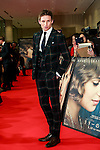 Actor Eddie Redmayne poses for the cameras during the Japan premiere of the Danish Girl on March 9, 2016, Tokyo, Japan. Eddie Redmayne with his wife Hannah Bagshawe came to Japan to greet fans during the red carpet for the movie The Danish Girl. The film was nominated in four categories at the Academy Awards with Best Supporting Actress going to Alicia Vikander. Redmayne who won Best Actor at the Academy Awards in 2015 lost out this year in the Best Actor category to Leonardo DiCaprio. The film hits Japanese theaters on March 18. (Photo by Rodrigo Reyes Marin/NipponNews.net)