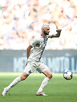 Calcio, Serie A: Inter Milano-Parma, Giuseppe Meazza stadium, September 15, 2018.<br /> Inter's Marcelo Brozovic in action during the Italian Serie A football match between Inter and Parma at Giuseppe Meazza (San Siro) stadium, September 15, 2018.<br /> UPDATE IMAGES PRESS/Isabella Bonotto