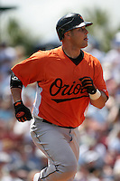 Baltimore Orioles Ramon Hernandez during a Grapefruit League Spring Training game at Holman Stadium on March 22, 2007 in Vero Beach, Florida.  (Mike Janes/Four Seam Images)