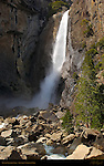 Lower Yosemite Fall in March, Yosemite National Park