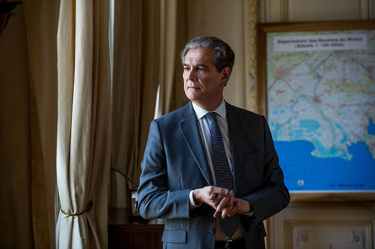 Jean-Paul Bonnetain, préfet de police des Bouches-du-Rhône -  Marseille 2013