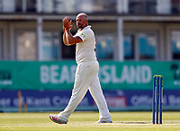 Darren Stevens in the field for Kent during Kent CCC vs Worcestershire CCC, LV Insurance County Championship Division 3 Cricket at The Spitfire Ground on 5th September 2021