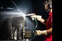 High class racing mechanic, 24 Hours of Le Mans , Race, Circuit des 24 Heures, Le Mans, Pays da Loire, France