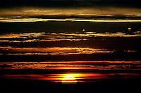 Sunset, 1987.   &#xA;<br />
