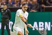 Rotterdam, The Netherlands, 18 Februari, 2018, ABNAMRO World Tennis Tournament, Ahoy, Singles final, Roger Federer (SUI)<br /> Photo: www.tennisimages.com/henkkoster