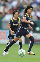 Los Angeles Sol (9) Han Duan during game against  the  Washington Freedom  at the Home Depot Center in Carson, CA on Sunday, March 29, 2009..