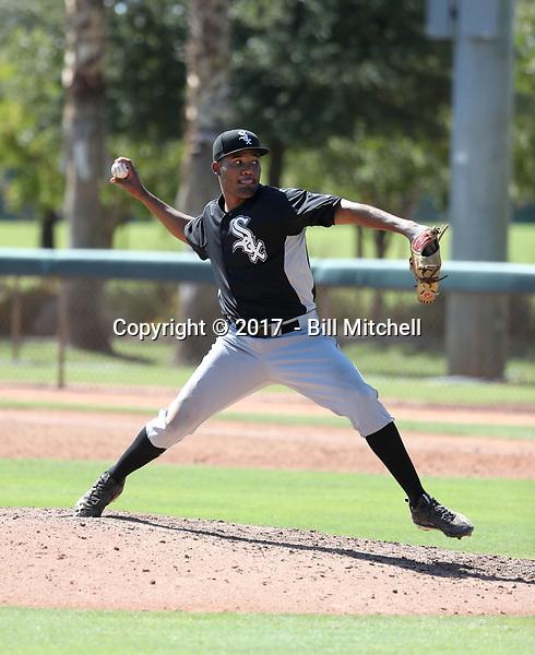 Jose Nin - 2017 AIL White Sox (Bill Mitchell)