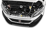 Car Stock 2016 Fiat Ducato MultiJet-MH2 4 Door Cargo Van Engine  high angle detail view