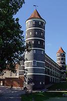 Schloss Panemunes Pilis. 17.jh., Litauen, Europa