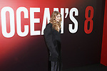 Gigi Hadid arrives at the World Premiere of Ocean's 8 at Alice Tully Hall in New York City, on June 5, 2018.