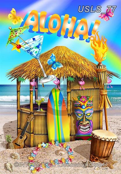 Lori, STILL LIFE STILLEBEN, NATURALEZA MORTA, paintings+++++1-AlohaHut2,USLS77,#i#, EVERYDAY,beach,fun,maritime,summer