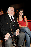 April 10 2006, Montreal (QC) CANADA<br /> Raymond Levesque<br /> Marie-Helene Thibbert<br /> Tribute to Raymond Levesque at Musimax<br /> Photo : (c) 2006 Pierre Roussel