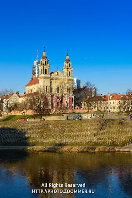 Church of St Raphael Archangel near Neris river, Vilnius, Lithuania
