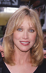 Tanya Roberts attending the FOX TV Upfront Party at Lincoln Center on May 18, 2000 in New York City.