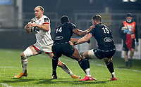 Monday 9th November 2020 | Ulster Rugby vs Glasgow Warriors<br /> <br /> Matt Faddes during the Guinness PRO14 Round 5 match between Ulster Rugby and Glasgow Warriors at Kingspan Stadium in Belfast, Northern Ireland. Photo by John Dickson / Dicksondigital