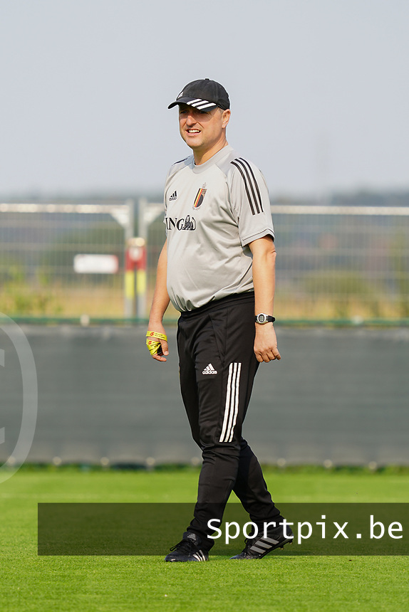 20200911 - TUBIZE , Belgium : Ives Serneels pictured during a training session of the Belgian Women's National Team, Red Flames , on the 11th of September 2020 in Tubize. PHOTO SEVIL OKTEM| SPORTPIX.BE