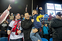 San Jose, Ca - Friday March 24, 2017: USA Fans during the USA Men's National Team defeat of Honduras 6-0 during their 2018 FIFA World Cup Qualifying Hexagonal match at Avaya Stadium.