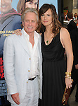 Michael Douglas & Jennifer Garner Affleck at The Warner Brothers' Pictures World Premiere of Ghosts of Girfriends Past held at The Grauman's Chinese Theatre in Hollywood, California on April 27,2009                                                                     Copyright 2009 DVS / RockinExposures