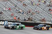 #19: Brandon Jones, Joe Gibbs Racing, Toyota Camry Juniper, #36: Alex Labbe, DGM Racing, Chevrolet Camaro Can-Am / Wholey / Cyclops Gear