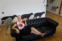 Silvia Moretta, fondatrice e presidente dell'associazione culturale Akedà di Pescara, curatrice d'arte indipendente e organizzatrice di eventi d'arte.<br /> Silvia Moretta is founder and president of Akedà, cultural association in Pescara.<br /> She is independent art curator and organizer of art events.