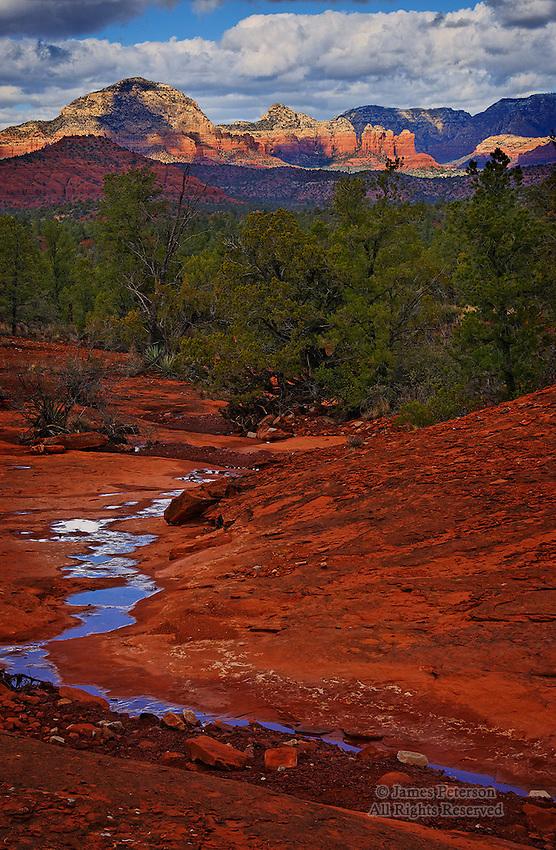 Long View from Turkey Creek, near Sedona, Arizona.