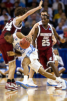 North Carolina against Washington State during the NCAA Basketball Men's East Regional at Time Warner Cable Arena in Charlotte, NC.