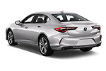 Car pictures of rear three quarter view of 2021 Acura TLX Advance-Package 4 Door Sedan Angular Rear