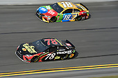 Monster Energy NASCAR Cup Series<br /> The Advance Auto Parts Clash<br /> Daytona International Speedway, Daytona Beach, FL USA<br /> Sunday 11 February 2018<br /> Martin Truex Jr., Furniture Row Racing, 5-hour ENERGY/Bass Pro Shops Toyota Camry, Kyle Busch, Joe Gibbs Racing, M&M's Toyota Camry<br /> World Copyright: John K Harrelson<br /> LAT Images