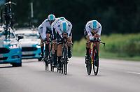Team SKY<br /> <br /> UCI MEN'S TEAM TIME TRIAL<br /> Ötztal to Innsbruck: 62.8 km<br /> <br /> UCI 2018 Road World Championships<br /> Innsbruck - Tirol / Austria
