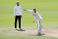 Dan Moriaty in bowling action for Surrey during Surrey CCC vs Essex CCC, LV Insurance County Championship Division 2 Cricket at the Kia Oval on 12th September 2021