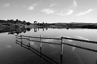 Knapps Loch at dusk near Kilmacolm, Inverclyde