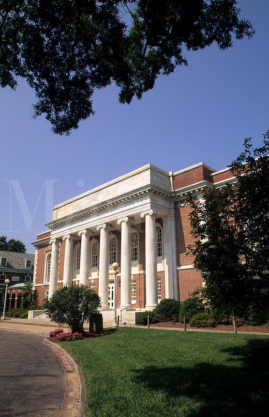 Duke University Lilly Library in Durham,  North Carolina, USA