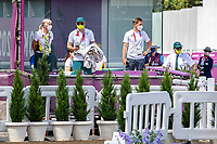 Australian Equestrian Team during the 1st Horse Inspection for the Dressage at the Equestrian Park. Tokyo 2020 Olympic Games. Friday 23 July 2021. Copyright Photo: Libby Law Photography
