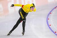 28th December 2020; Thialf Ice Stadium, Heerenveen, Netherlands; World Championship Speed Skating; 5000m ladies, Carlijn Achtereekte during the WKKT
