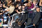 70eme Festival International du Film de Cannes. Montee de la ceremonie de cloture, vues du toit du Palais . 70th International Cannes Film Festival. Vew from rof top of closing red carpet<br /> <br /> Phoenix, Joaquin