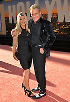 """LOS ANGELES, USA. July 23, 2019: Vivienne Kove & Martin Kove at the premiere of """"Once Upon A Time In Hollywood"""" at the TCL Chinese Theatre.<br /> Picture: Paul Smith/Featureflash"""