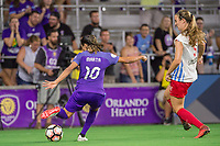 Orlando, FL - Saturday August 05, 2017: Marta Vieira Da Silva during a regular season National Women's Soccer League (NWSL) match between the Orlando Pride and the Chicago Red Stars at Orlando City Stadium.