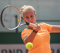 Paris, France, 31 May, 2017, Tennis, French Open, Roland Garros, Richel Hogenkamp (NED)<br /> Photo: Henk Koster/tennisimages.com