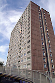 South Kilburn Estate in the London Borough of Brent. Residents are resisting proposals to finance regeneration of the run down estate by building an extra 2,400 flats.