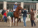 08 April 2010.  Dr. Zic and Kent Desormeaux win the 9th running of the Vinery Madison (GRI).