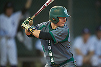 Saint Leo Lions second baseman Zach Gary (2) at bat during a game against the Northwestern Wildcats on March 4, 2016 at North Charlotte Regional Park in Port Charlotte, Florida.  Saint Leo defeated Northwestern 5-3.  (Mike Janes/Four Seam Images)
