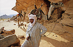 Akakus djebel. This 120 miles long and 30 miles wide sandstone tableland is the continuation of the Tadrart massif in Algeria.