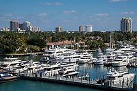 Ft. Lauderdale, Florida.  Hyatt Regency Marina.