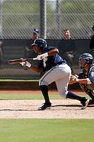 Khris Davis - Milwaukee Brewers 2009 Instructional League.Photo by:  Bill Mitchell/Four Seam Images..